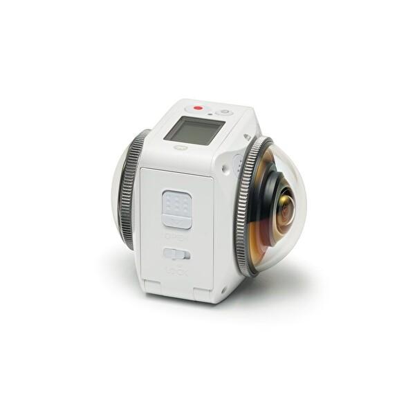 Kodak Pixpro 4KVR360 360° 4K Aksiyon Kamera (Ultimate Full Aksesuarlı Paket )
