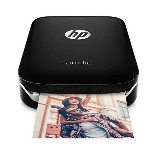 HP Z3Z92A Sprocket Siyah Taşınabilir Fotoğraf Yazıcısı