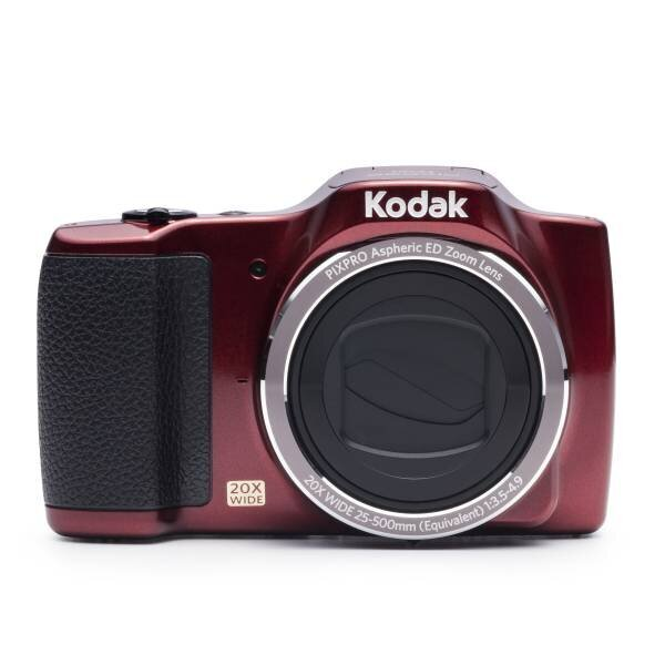 Kodak Pixpro FZ201 Kırmızı 16MP 20X Optik Zoom Dijital Fotoğraf Makinesi