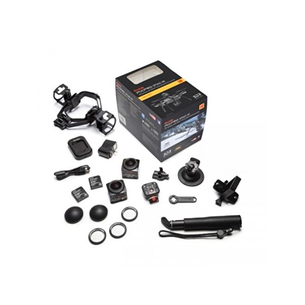 Kodak Pixpro SP360 4K Siyah - Aerial Pack 360° VR Aksiyon Kamera Drone Kit (Wİ-Fİ & Uzaktan Kumanda & 4K)