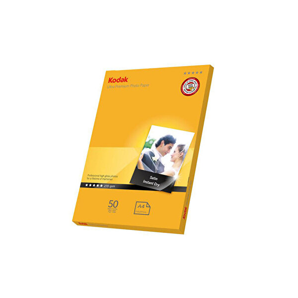 Kodak Ultra Premium Yarı Mat Fotoğraf Kağıdı - 20x30 Cm - 50 Sayfa