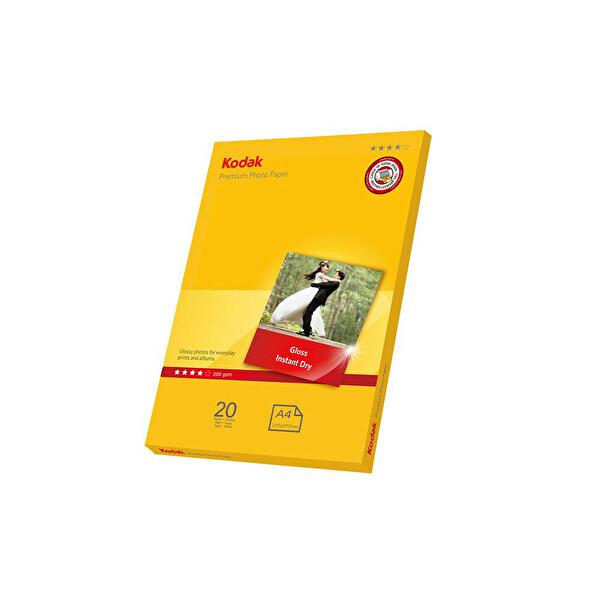 Kodak Premium Parlak Fotoğraf Kağıdı - 20x30 Cm - 20 Sayfa - 200 Gr/M2