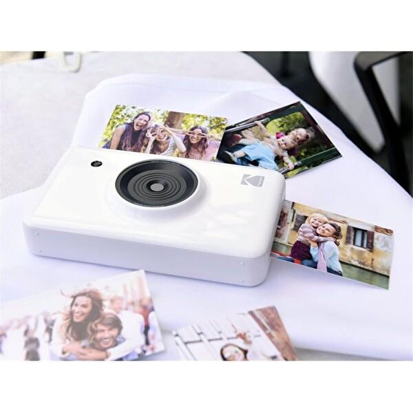 Kodak Mini Shot Anında Baskı Beyaz Dijital Fotoğraf Makinesi