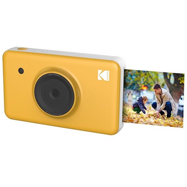Kodak Mini Shot Anında Baskı Sarı Dijital Fotoğraf Makinesi