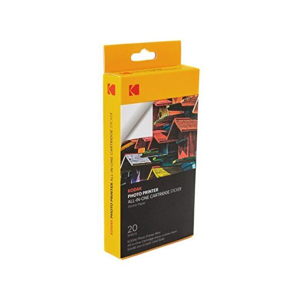 Kodak Yapışkanlı Mini Shot & Mini 2 Yazıcı Kartuş Seti (20 Adet)