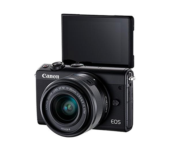 Canon EOS M100 15-45mm Siyah Dijital Fotoğraf Makinesi