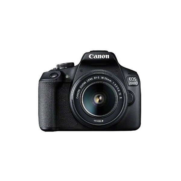 Canon EOS 2000D 18-55 mm IS DSLR Dijital Fotoğraf Makinesi