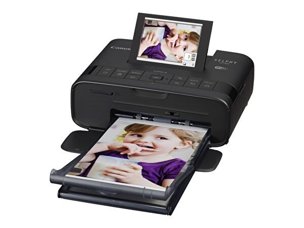 Canon Selphy CP1300 Siyah Fotoğraf Yazıcısı