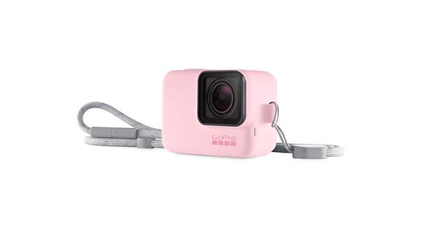 GoPro Bileklik + Boyunluk (Pembe)