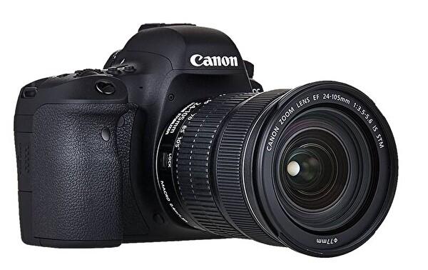 Canon 6D Mark II 24-105 IS STM KIT DSLR Dijital Fotoğraf Makinesi