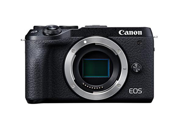 Canon EOS M6 MARK II 15-45 IS STM + EVF Dijital Fotoğraf Makinesi