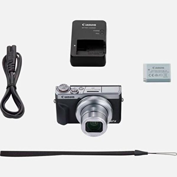 Canon G7x Mark III Dijital Fotoğraf Makinesi Gri