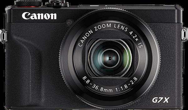 Canon G7X Mark III Siyah Dijital Fotoğraf Makinesi