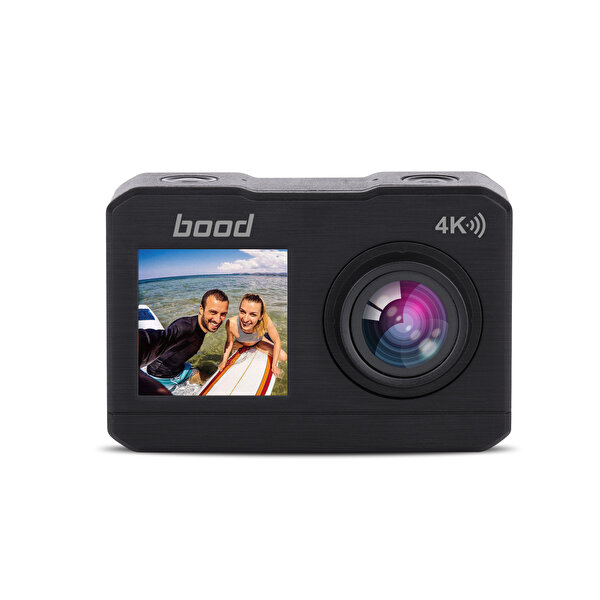 Bood B-94 Wifi 4K Çift Ekranlı Aksiyon Kamera
