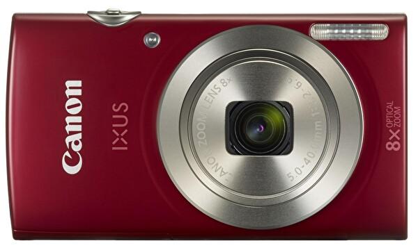 Canon IXUS 185 20 MP 8X Zoom Fotoğraf Makinesi Kırmızı