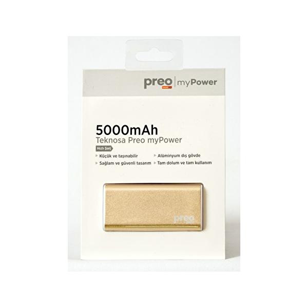 Cep Telefonu Hizmet Paketi (5000 Mah Powerbank Altın)