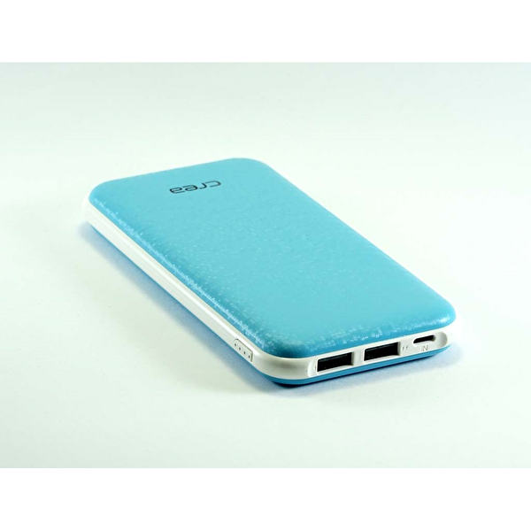 Çrea 7000 Mah Slim Mavi Powerbank