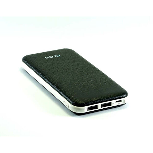 Çrea 7000 Mah Slim Siyah  Powerbank ( OUTLET )