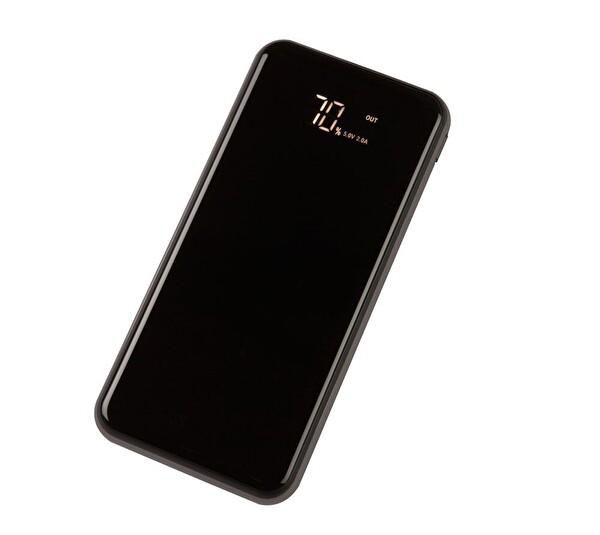 Çrea 10000 Mah Black LCD DISPLAY Silver  Powerbank ( OUTLET )