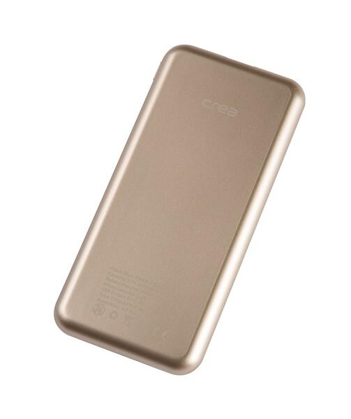 Çrea 10000 Mah Black Lcd Dısplay Gold Powerbank