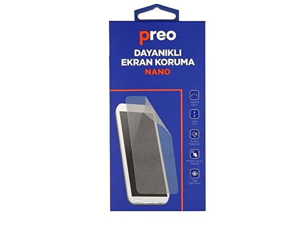 Preo Samsung Galaxy J7 Pro J730 (Ön) Nano Premium Dayanıklı Ekran Koruma