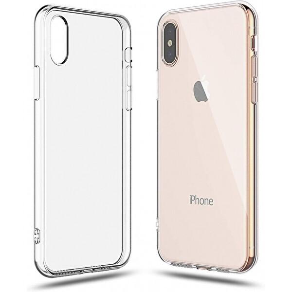 Preo Tpu Case iPhone XR Polikarbon Telefon Kılıfı Şeffaf