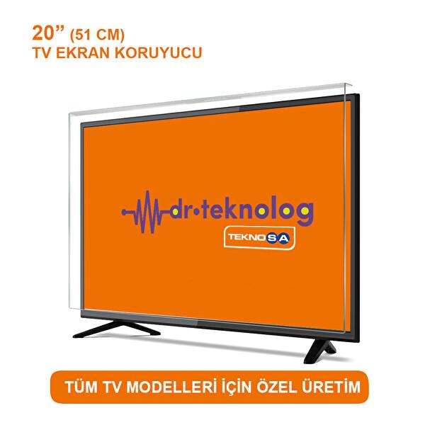 """DR.TEKNOLOG TV EKRAN KORUYUCU 20"""" 51 CM"""