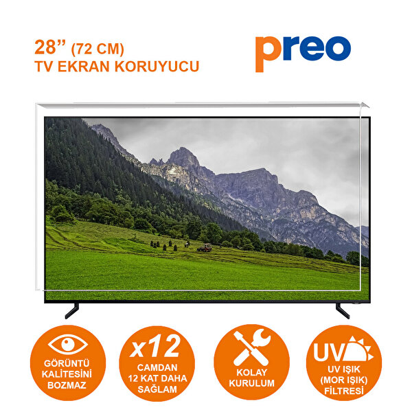 """Preo Tv Ekran Koruyucu 28"""" 72 Cm"""