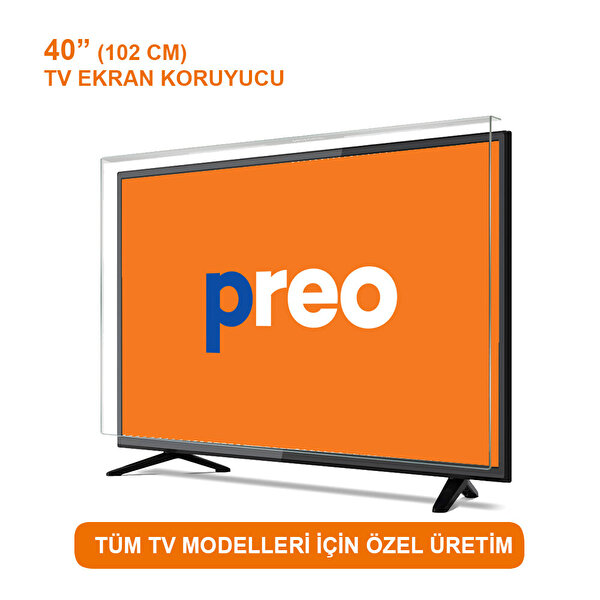 """Preo Tv Ekran Koruyucu 40"""" 102 Cm"""