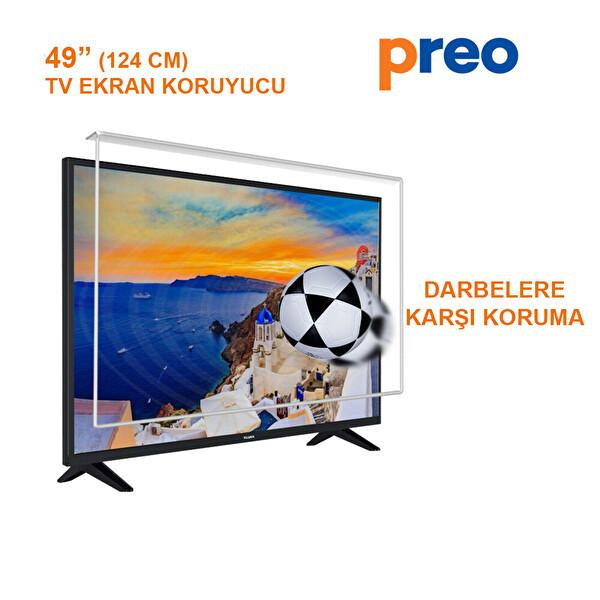 """Preo Tv Ekran Koruyucu 49"""" 124 Cm"""