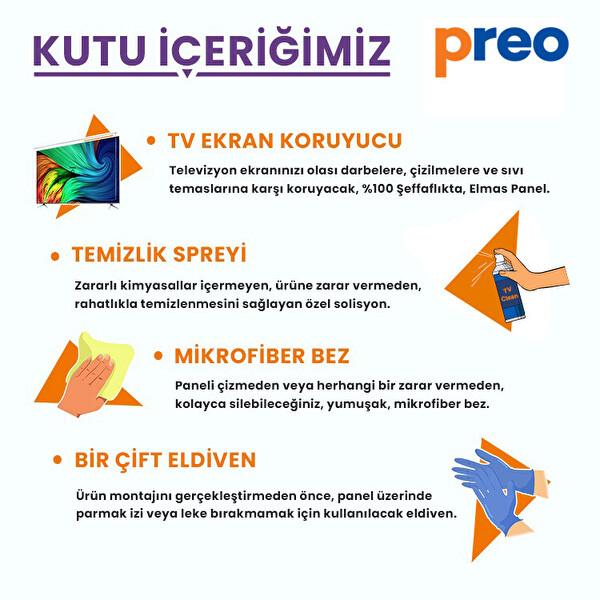 """Preo Tv Ekran Koruyucu 55"""" 140 Cm"""