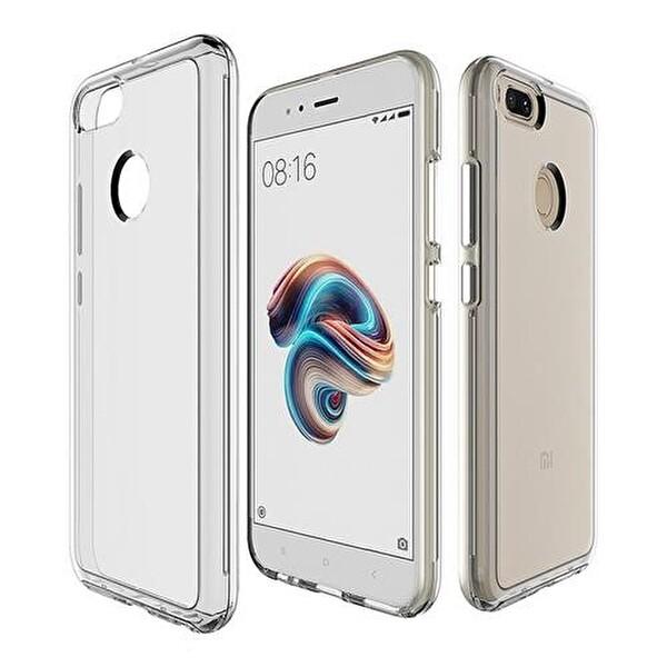 Preo Tpu Case Oppo A5S Polikarbon Telefon Kılıfı Şeffaf