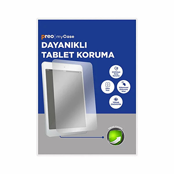 """Preo Tablet Ekran Koruma Apple iPad 7. ve 8. Nesil 10.2"""""""