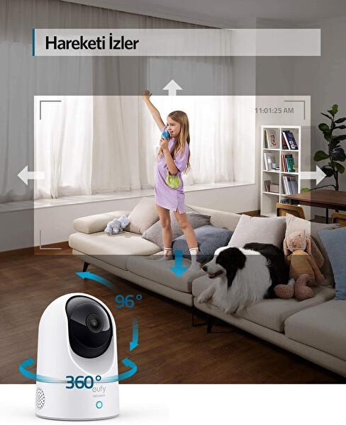 Anker Eufy Security 360° IP Kamera 2K HD