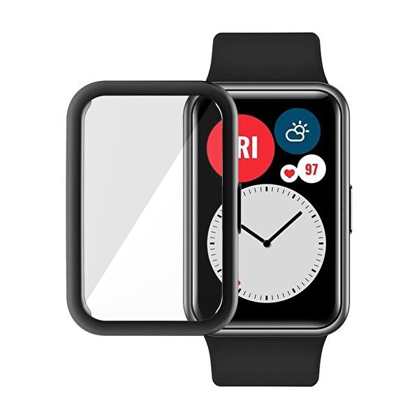 Preo Akıllı Saat Koruma Huawei Watch Fit Stıa-B09 Pmma Perfect Fullfit