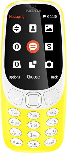 Nokia 3310 Sarı Cep Telefonu