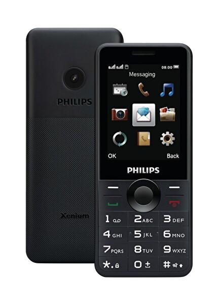 PHILIPS XENIUM E168 BLACK CEP TELEFONU ( OUTLET )