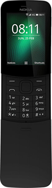 NOKIA 8110 4G TA-1067 SS BLACK CEP TELEFONU ( OUTLET )