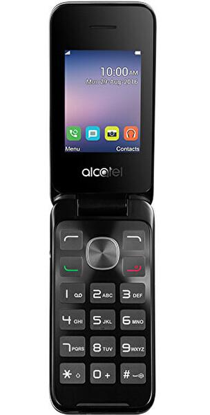 Alcatel 2051 Silver Kapaklı Cep Telefonu