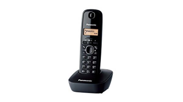 Panasonic KX-TG1611 Siyah Dect Telefon