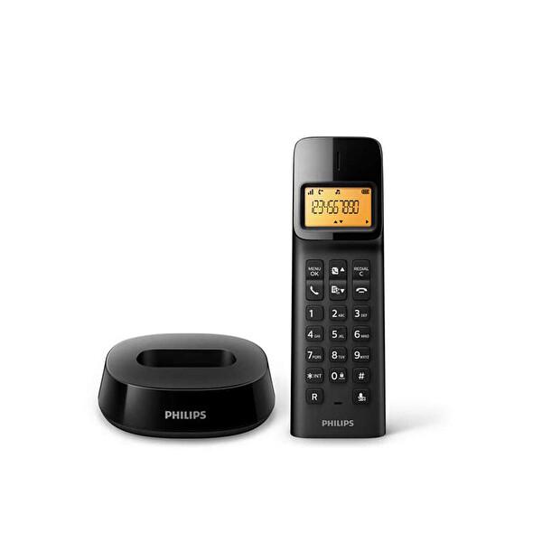 Philips D1401B/Tr Siyah Dect Telefon