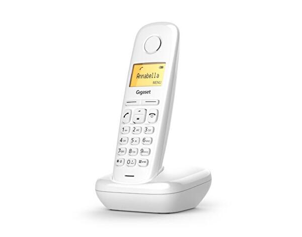 Gigaset A170 Beyaz Dect Telefon
