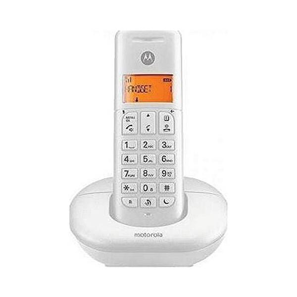 Motorola E 201 Beyaz Dect Telefon