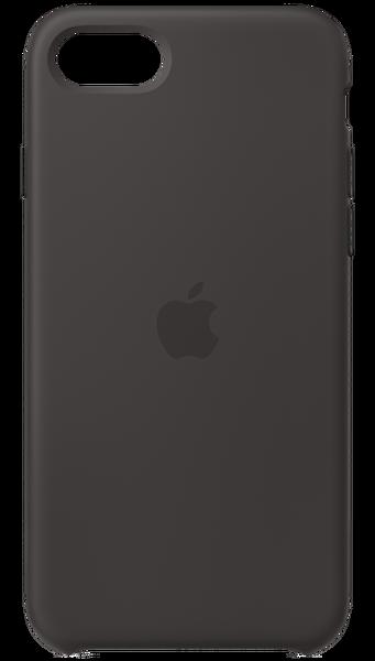 Apple iPhone SE 2. Nesil Siyah Silikon Kılıf MXYH2ZM/A