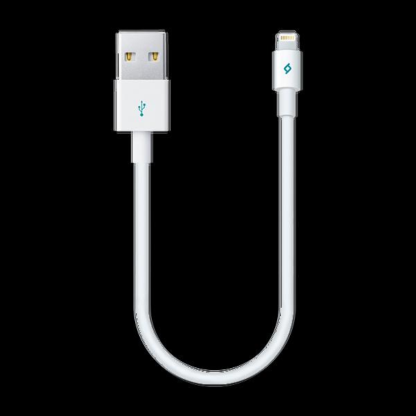 Ttec Mini Cable 30 Cm iPhone 5 Beyaz Şarj Kablosu