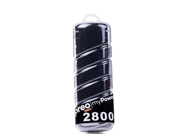 Preo My Power Mp03 Siyah 2800 Taşınabilir Şarj Cihazı