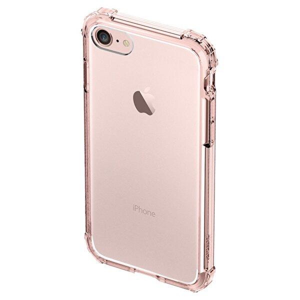 Spigen iPhone 7 Crystal Shell Rose Crystal Cep Telefonu Kılıfı