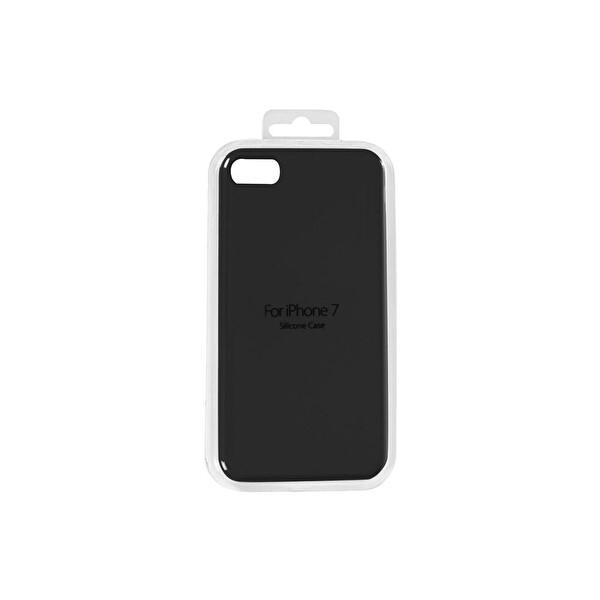 Vpw Srp-40 iPhone 7 Sılıcone Siyah Cep Telefonu Kılıfı