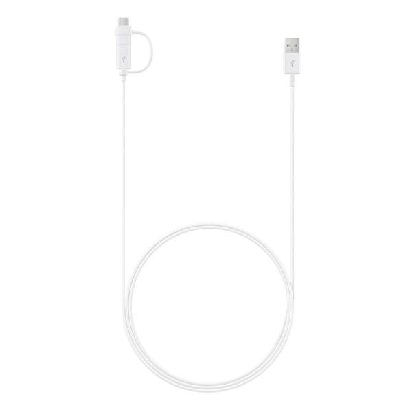 Samsung C Type+Micro USB Kombo Cep Telefonu Kablosu