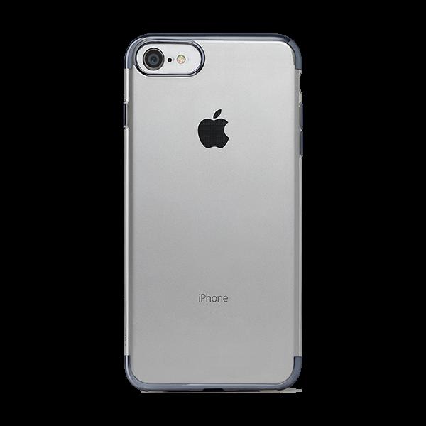 Ttec Chrome Clear Koruma Kapağı iPhone 7 Uzay Grisi Cep Telefonu Kılıfı